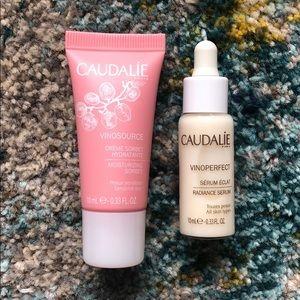 Caudalie Vinoperfect and Vinosource Duo